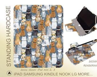 kitty Cat iPad Pro 9.7 iPad Mini 3 Tab A8 Tab E8 Tab S2 9.7 Tab E 10 Tab S2 8 Tab A 9.7 Tab 3 Tab S 10.5 Tab S  iPad Mini 4 iPad Air 2