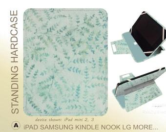 Aqua Floral ipad case iPad Pro 9.7 iPad Mini 3 iPad Mini 4 iPad Air 2 iPad 4 iPad Pro 9.7 iPad Mini 3 iPad Mini 4 iPad Air 2 iPad 4