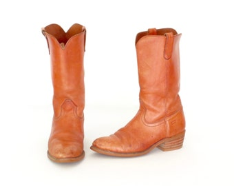 Vintage Ranch Boots * Western Boots * Campus Boot * Euro 44