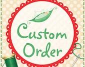 Custom Order for Julie Carling - 20 Cluster Felt Leaves for Wall Hanging