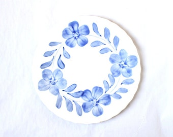 Blue Ridge Pristine Southern Potteries Dinner Plate