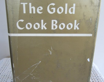 Vintage Cook Book The Gold Cook Book Gourmet Vintage Recipes
