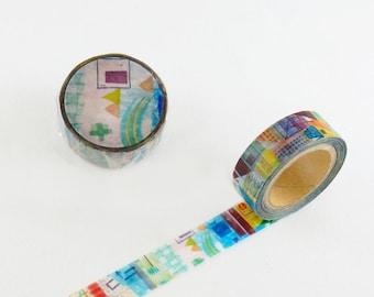 Valley Chamil garden washi tape 15mm x 10M washi masking tape