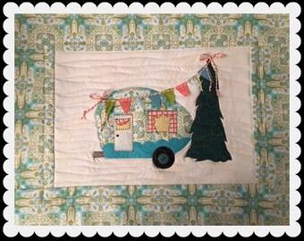 Camper Celebration PDF Mini Quilt Pattern from Quilt Doodle Designs
