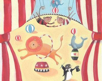 Circus print