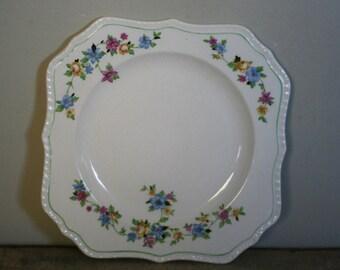 vintage steubenville ivory plate