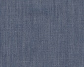 The Denim Studio by Art Gallery Fabrics - 80/20 BTY WIDE -  Afternoon Sail Smooth Denim S-2003
