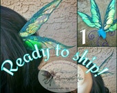 Fantasy Ear Fairy Faery Ear Wrap Wings LARP Cosplay Halloween Costume Fair Festival Ready To Ship In Stock