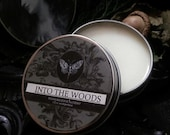 Into the Woods  Natural Solid Perfume Apothecary Creosote, Labdanum,Cypress,Frankincense, Benzoin, Vanilla, Patchouli, Cedarwood