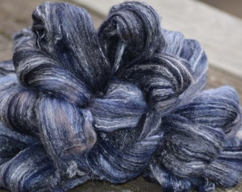 Blue Mist - Hand Dyed Roving