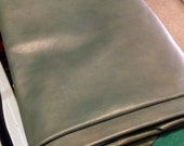 P2.  Green with Gold Star Dust Leather Cowhide