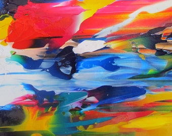 Celebration in the Sky Original Abstract Painting