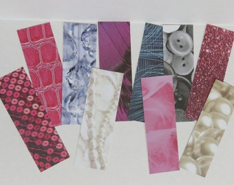 10 Fashionista Themed Bookmarks To Decorate And Personalize