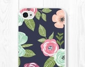 iPhone 6 Case Floral Phone Case Samsung Galaxy S6 Case Floral iPhone 6s Case Floral Gift Mom Wife iPhone 5c Case iPhone 5s Case iPhone 5
