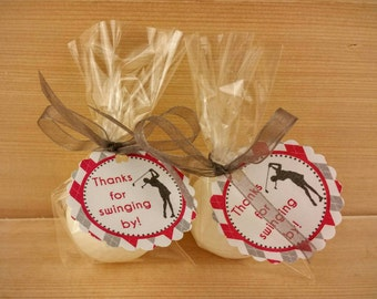 10 Golf Ball Soap Favors - Golf Theme Birthday Party Favors - Baby Shower Favors
