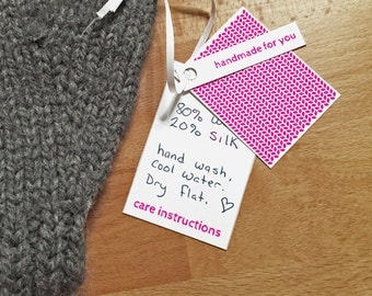 Gift Tags for Knits