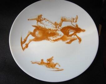 Carlo Marchiori Limited Edition Il Caprorne Porcelain Plate