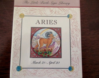 Aries -  tiny book, astrology, love, relationships