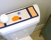 Americana Table Runner, Toilet Tank Topper, Halloween, Quilted, Mug Rug, Trivet, Coaster, Primitive Farm House, Shabby Chic, Candle Mat