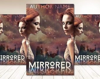 "Premade Digital Book eBook Cover Design ""Mirrored"" Fiction Young New Adult YA Urban Fantasy Romance Sci Fi Literary Fiction"