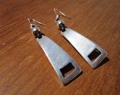Long earrings, big earrings, dangling earrings, cute earrings, earrings for women, sterling silver earrings, etsy jewelry, handmade earrings