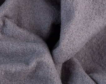 Extra fine merino Prefelt, Stormy Gray, 19 microns, 59 in. wide