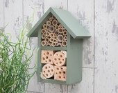 Insect House, Bee Hotel, Wildlife Habitat in 'Willow'. Can be personalised.