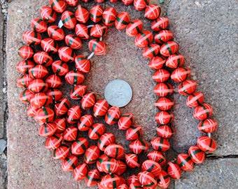 Wood Beads: 10x15mm