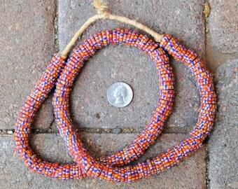 Krobo Disc Beads 3x14mm