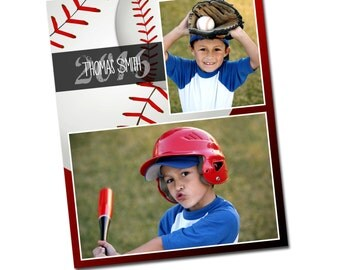 INSTANT DOWNLOAD - Photography 16x20 Memory Mate Sports Photo Template - E1025
