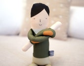 Khaki Boy Doll (Little People)