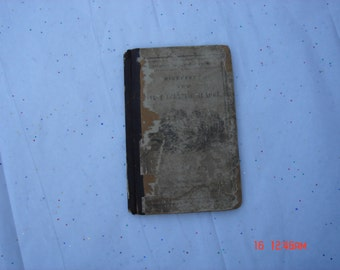 McGuffey's First Eclectic Reader for little Children by Wm H. McGuffery - Stereotype Edition -1857