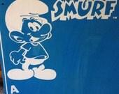 Smurf Blue Learning Chalkboard