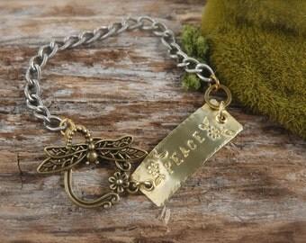 Dragonfly Peace Bracelet