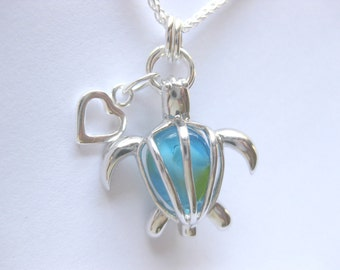 SS Sea Turtle jewelry  Turtle Pendant  animal jewelry  SS Sea Turtle Necklace
