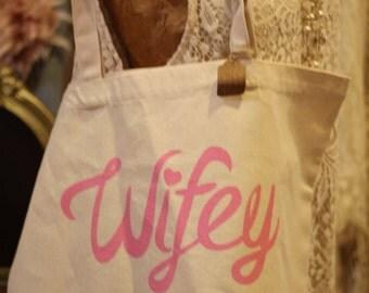 Canvas Wedding Bag