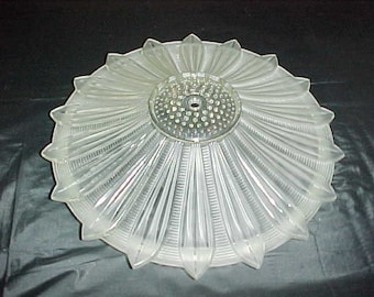 Rare and Unusual Ceiling Light Fixture Shade