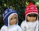 Like our Hats Dolls Knitting pattern