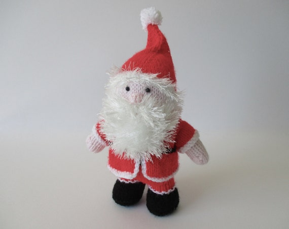 Santa Claus Toy Doll Knitting Pattern