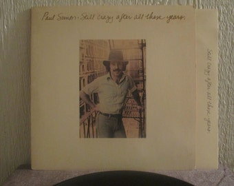 Paul Simon vinyl - Still crazy after all these years - Original - Vintage Record lp in EX+ Condition.