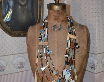Vintage Fetish Necklace