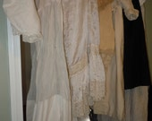 Lot of Antique ladies Clothing skirt shirt cape bloomers