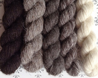 "Tomtepojken - The little boy - ""Once upon a time"" collection of handspun yarns"