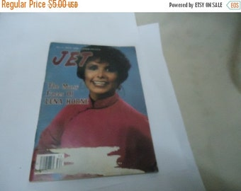 Independence Day Sale Vintage 1980 August 21 Jet Magazine With Lena Horne On Cover, Johnson Publications,  collectable