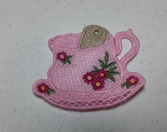 Lace Teacup with Loop