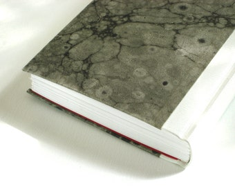 Journal Sketchbook - Black and White Marbled Paper