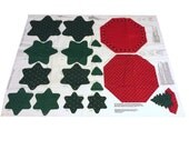 Christmas Tree Centerpiece Fabric Panel, Cut and Sew, Christmas Fabric, Holiday Fabric VIP Keepsake Crafts Collection, Cranston Print Works