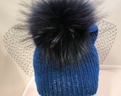 Kit for Ribbed Pom Pom hat