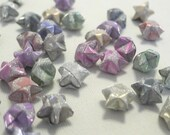 80 - Little Wild Thing - Soft Colors Magical Star Dust Origami Lucky Stars