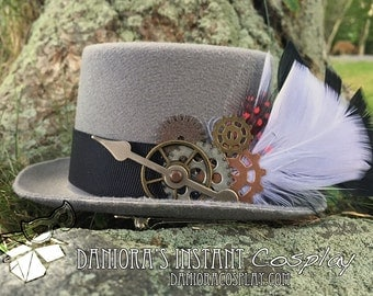 Miniature Steampunk Top Hat Fascinator